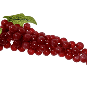Replica bunch red grapes