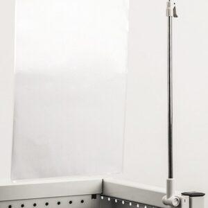 Adjustable Height Sign Holder Stem with Base. 300mm - 500mm