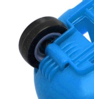 Blue 43 Litre Wheelie Basket