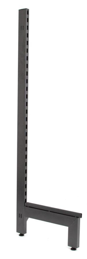 White 2100mm Single Post