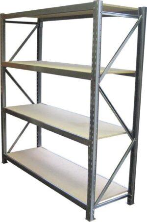 Long Span 4 Shelf Levels Starter Bay-1800x600-1200mm