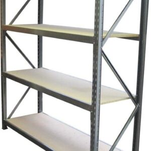 Long Span 4 Shelf Levels Addon Bay-1800x600-2200mm