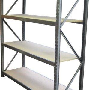 Long Span 4 Shelf Levels Starter Bay-2400x450-1200mm