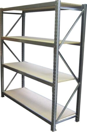 Long Span 4 Shelf Levels Starter Bay-2400x450-2200mm