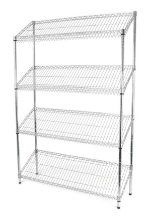 Sloping Angled Shelf Unit - KIT : 1800(H)x900(W)x350(D)