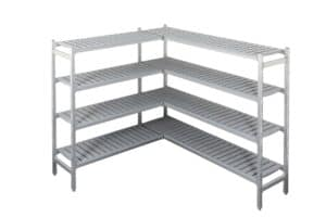 Cool Room Shelving Add-on Bay With 4 Shelf Levels: 1550(H) x 925(L) x 610(D)  mm