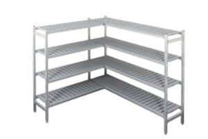 Cool Room Shelving with 4 Shelf Levels
