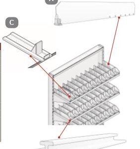 Shelf Divider/Pusher