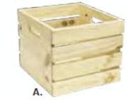 Wooden Crate - Premium