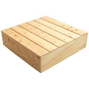 Large Wooden Platform
