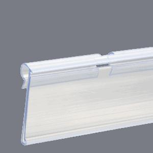 Flipper Label Holder 26x80mm CLEAR