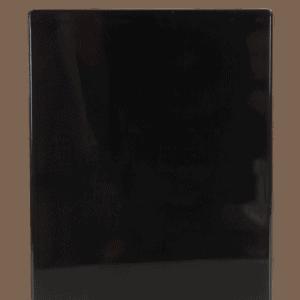 Ticket 90x120mm BLACK
