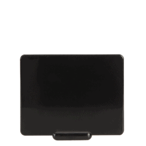 Ticket H/R 50x65mm BLACK
