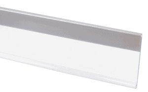 Ticket Stripping With Foam Tape 39x1200mm CLEAR
