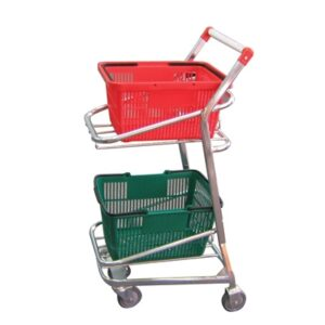 Ezee Trolley With RED Handles
