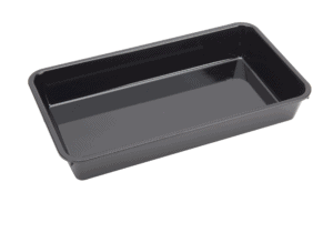 PolyCarb tray 360x203 56mm BLACK