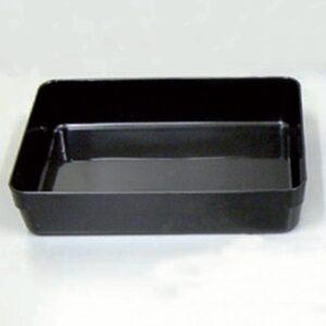 Rimless Tray 240x350x75mm BLACK