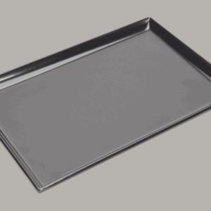Square Corner Tray 250x170mm BLACK