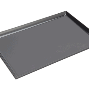 Square Corner Tray 300x200mm BLACK