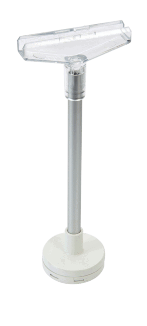 Round Magnet Long Stem With T-Piece 15cm