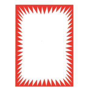 Non-Reusab le Flash Show Card A4 Pack of 25
