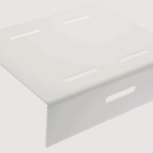 Step Riser 300x250x80mm WHITE
