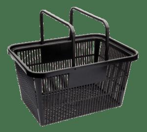 Large Shopping Basket Std Design BLACK