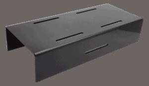 Black Step Riser 600x250x120mm