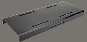 Black Step Riser 600x250x40mm
