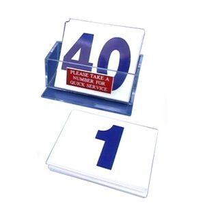 Customer Service Number Kit BLUE