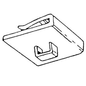 Plastic Ceiling Clip