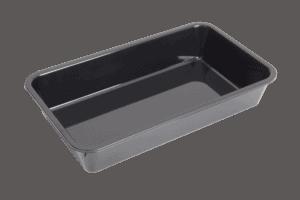 P/carb Tray Qtr High 180x304x56mm