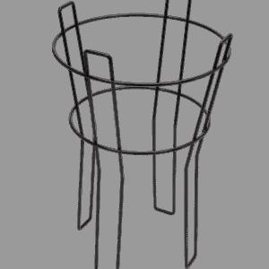Single Barrel Floor Stand