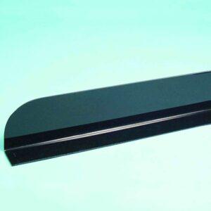 Divider L Shape 450mm BLACK