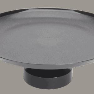 Frosted S.A.N Pedestal 330mm BLACK