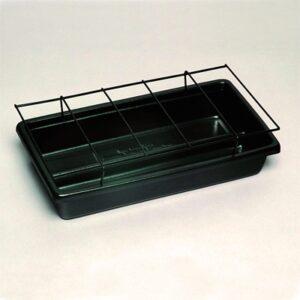 Herb Display Tray W Rack 400x200x100mm
