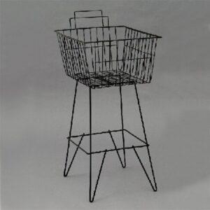 Dump Basket 410x510mm BLACK