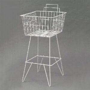 Dump Basket 410x510mm WHITE