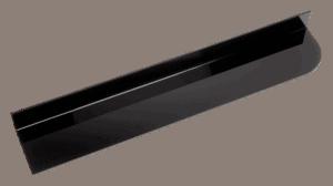 Black Divider 100x600mm