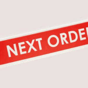 Order Divider/Register Closed