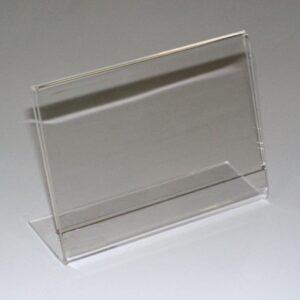 Acrylic Card Holder 60x90mm Landscape