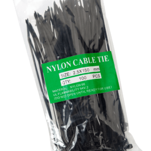 Cable Ties 150mm BLACK