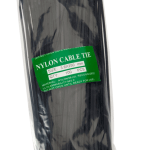 Cable Ties 250mm  BLACK