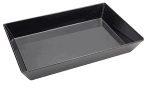 Bowl Rectangle 300x450x75mm BLACK