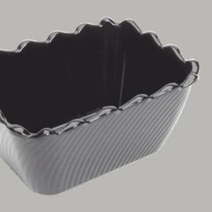 Scallop 175X130X85mm BLACK