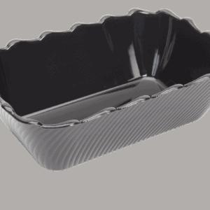 Scallop 265X175X85mm BLACK