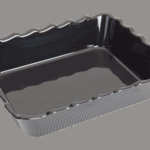 Scallop 310x250x75mm BLACK