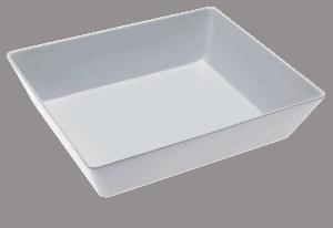 Smart Bowl Size 2 250x300x75mm WHITE