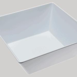 Square Bowl 300x300x115mm WHITE