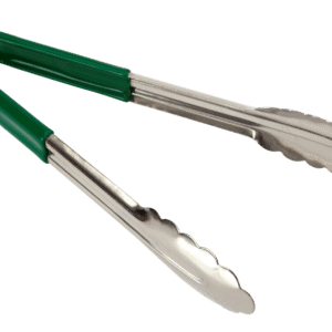 Stainless Steel Tong 300mm GREEN